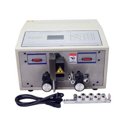 Swt508c Automatic Strip Wire Machine Skinning Cutting Wire Computer Strip Wire