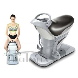 110v 200w Brown Horse Riding Abdominal Exercise Machine Five-axis Operation Horse riding simulator 154032