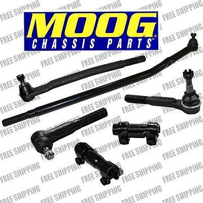 00-05 RWD Ford Excursion Front End Steering Rebuild Kit Tie Rod End Sleeve