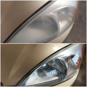 HEADLIGHTS RESTORATION $50.00!!!!!!!!!!!!! TITAN CAR DETAILING