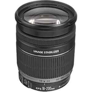 Canon 18-200mm lens with lens hood Kitchener / Waterloo Kitchener Area image 1