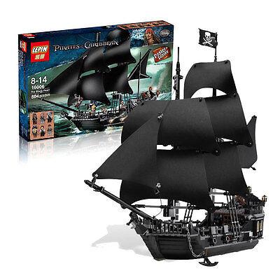 THE BLACK PEARL SHIP 809pcs Pirates Of The Caribbean - Pls Message For Color Box Caribbean Black Pearl Ship