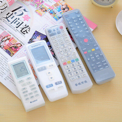 New TV Remote Control Set Waterproof Dust Silicone Skin Protective Cover Case CA