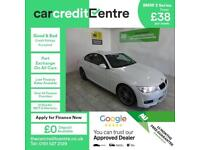 WHITE BMW 3 SERIES 2.0 320D M SPORT ***FROM £202 PER MONTH***