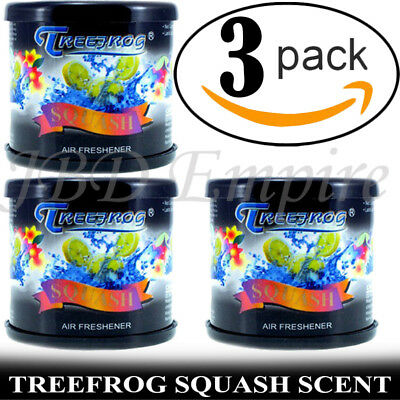 TREE FROG BLACK SQUASH AIR FRESHENER (SET OF -