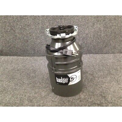 InSinkErator 5XP Badger Continuous Feed Garbage Disposal, 3/4 HP w/POWER CORD