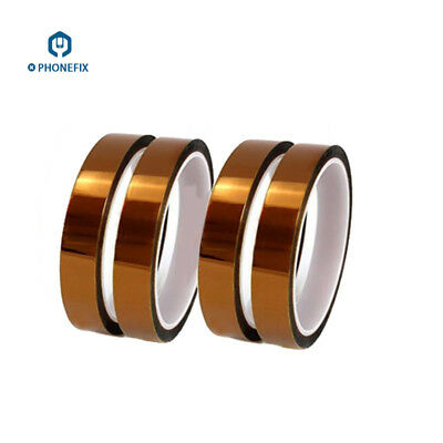 3x 20mm 30m 100ft Kapton Tape Adhesive High Temperature Heat Resistant Polyimide