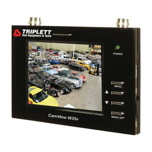 Triplett CamView - Security Camera Wrist Monitor with 3.5-In LCD