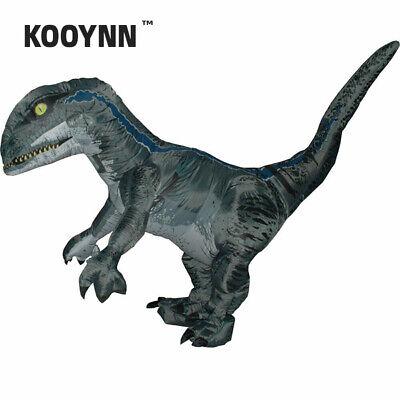 KOOYNN Inflatable Velociraptor Dinosaur Costume Adult T rex Halloween Cosplay ](T Rex Cosplay)