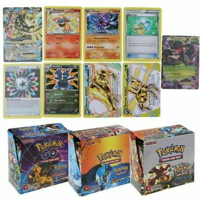324pcs Pokemon TCG Booster Box English Edition Break Point 36 packs cards HOT