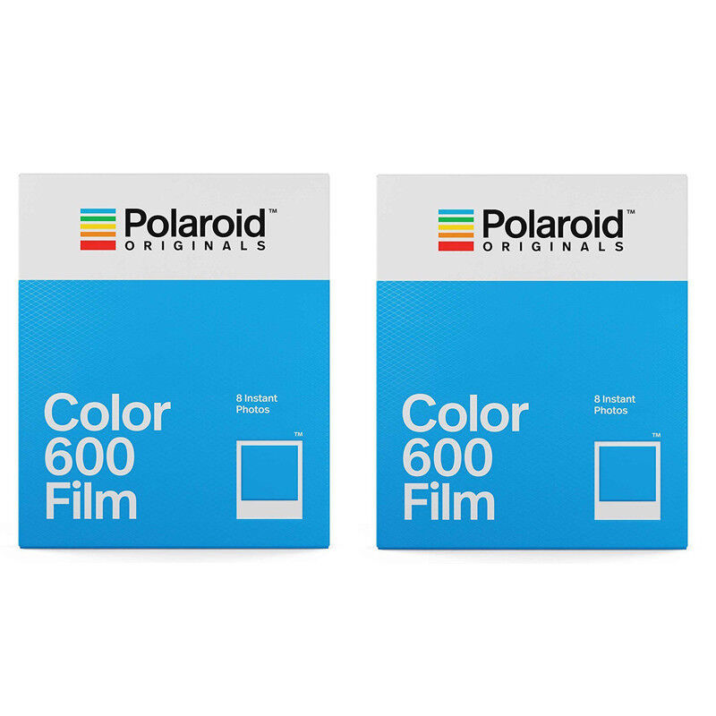 2 Pack Polaroid Originals 4670 Instant Color Film for 600 Ty