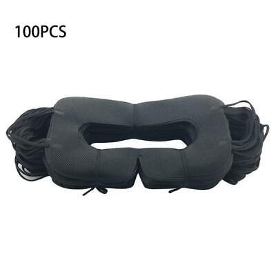 100 Pcs Hygiene VR Pad Black Disposable Eye Cover for Vive 3D Virtual Realit