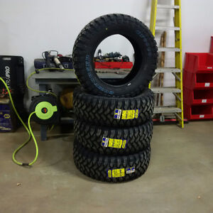 35X12.5R20 Mud & Snow Rated - Set of 4 1100