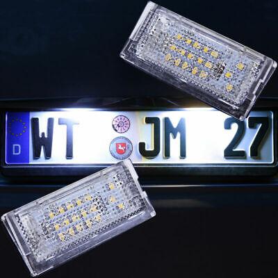 2 Stück SMD LED Kennzeichenbeleuchtung Kennzeichenleuchten BMW E46 Cabriolet