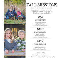 Fall Photos! Limited spots are avaiable