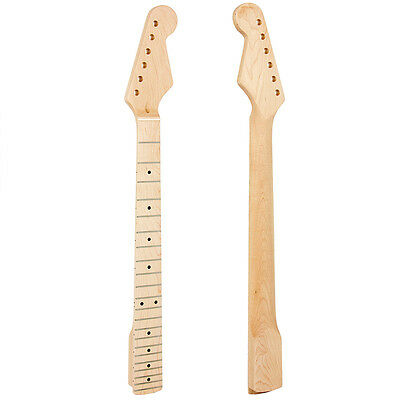 Electric Guitar Neck For St Parts Replacement Maple 22 Fret Neck Arcuated Heel