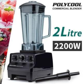 Commercial Blender - Food Processor Mixer Juicer Smoothie New