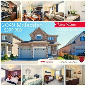 Open house Saturday April 30th & Sunday May 1st