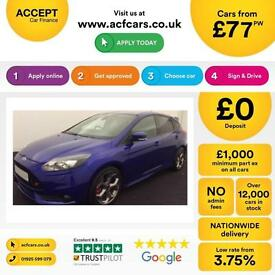 Ford Focus ST3 FROM £77 PER WEEK!