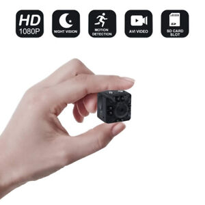 1080P Full HD Mini Camera with Night Vision and Motion Sensors
