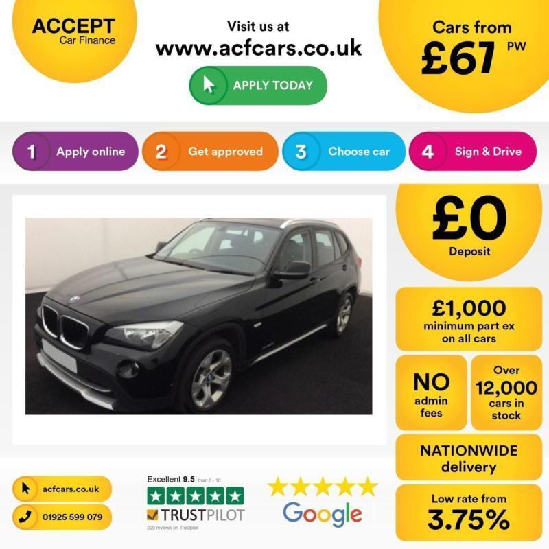 BMW X1 2.0TD auto xDrive20d SE FROM £67 PER WEEK !