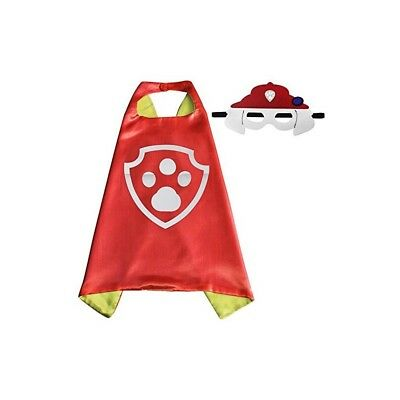 child girl Halloween costume dress up cape & mask paw patrol inspired MARSHALL](Paw Patrol Halloween Masks)