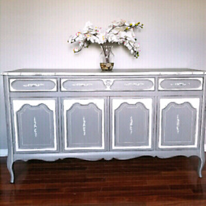 Buffet server sideboard refinished