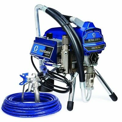 Graco Ultra Max Ii 490 Pc Pro Airless Paint Sprayer Stand 17c327 Old 249911
