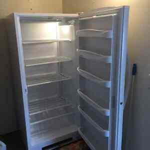 Upright Kenmore freezer