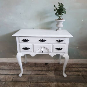 White Entryway TAble