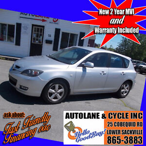 2009 Mazda 3 GX  Hatchback  Only $5995 New MVI Runs nice!