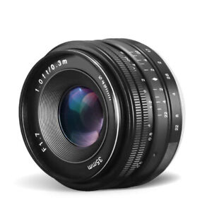BNIB CRAPHY Compatible 35mm f/1.7 Camera Lens for Sony