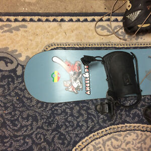 Great Snowboard and boots size 7.5 Mens Stratford Kitchener Area image 3