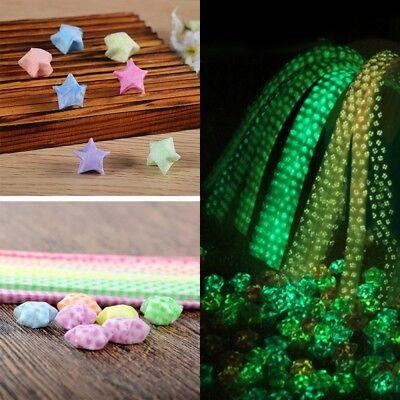 Mode Origami Leuchtende Glück Wünschen Sterne Papier Streifen Handwerk Geschenk