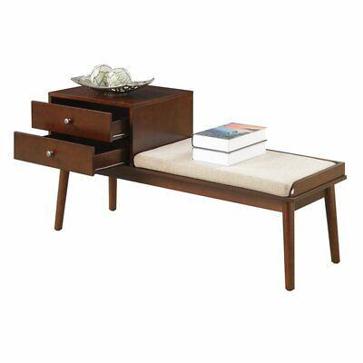 Convenience Concepts Designs4Comfort Van Dyke Mid Century Be