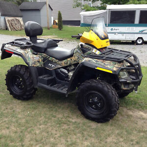 One owner Can-Am Outlander 800 Max XT Camo
