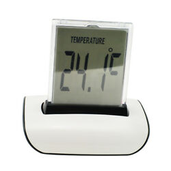 【US】7 Color Change LED Digital LCD Thermometer Calendar Home Alarm Clock Alarm