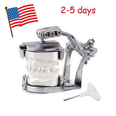 Dental Teeth Adjustable Magnetic Articulator Lab Equipment Full Mouth Model Type