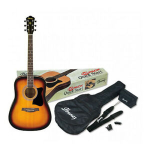 Ibanez Acoustic Guitar Jam Pack Bag, Strap, Tuner & Picks NEW