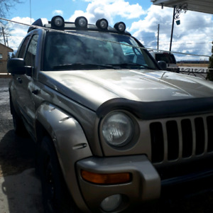 JEEP LIBERTY 2004 RENEGADE