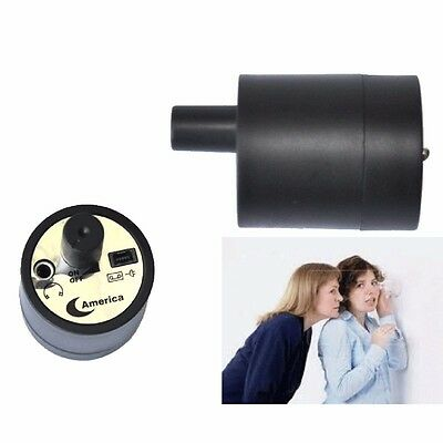 Ear Listen Through-Wall Device Spy Eavesdropping Microphone Voice Bug, US SELLER