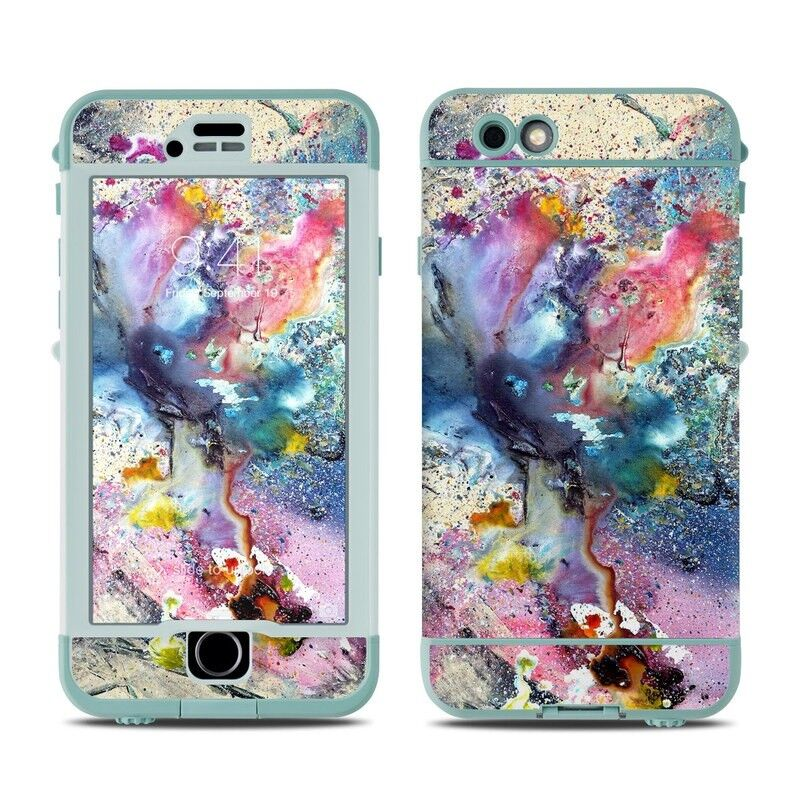 Skin for LifeProof Nuud iPhone 6S - Cosmic Flower - Sticker Decal