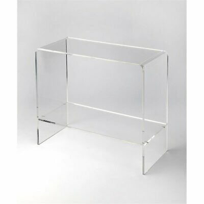 Butler Specialty Loft Console Table in Clear Acrylic