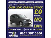 Volkswagen Touran 1.6TDI ( 105ps ) ( BMT ) DSG 2015MY SE LOW WEEKLY PAYMENTS £65