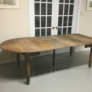 Antique Drop Leaf Table with Leaves