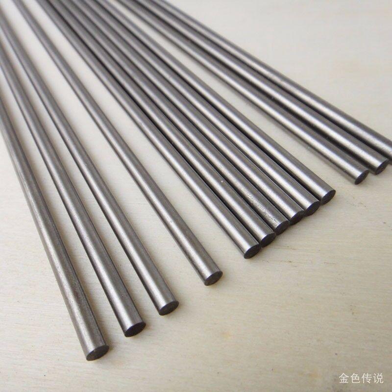 Steel Ground Rod Round Shaft 3mm 4mm 2mm x 200mm Long DIY Axles Technology