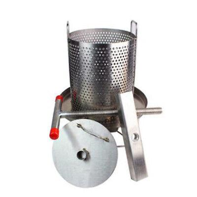 Mesh Bee Honey Press Machine Manual Honey Extractor Stainless Steel Household
