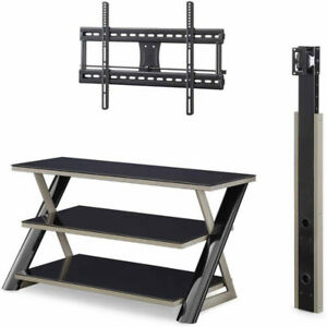 """3-in-1 Flat-Panel TV Stand, for TVs up to 50"""" (BRAND NEW)"""