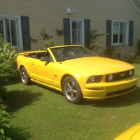 2005 Ford Mustang Convertible Cabriolet