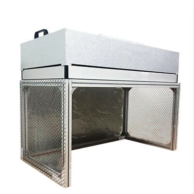 Dust Free Room Workshop Laminar Flow Hood Bench Air Flow Clean Workstation